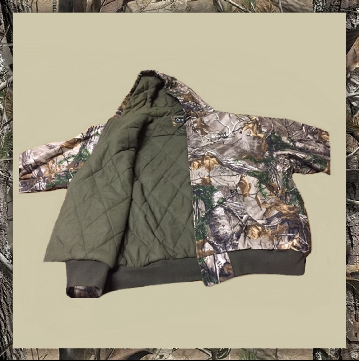MadoroM Hooded Camouflage Jacket Product Image