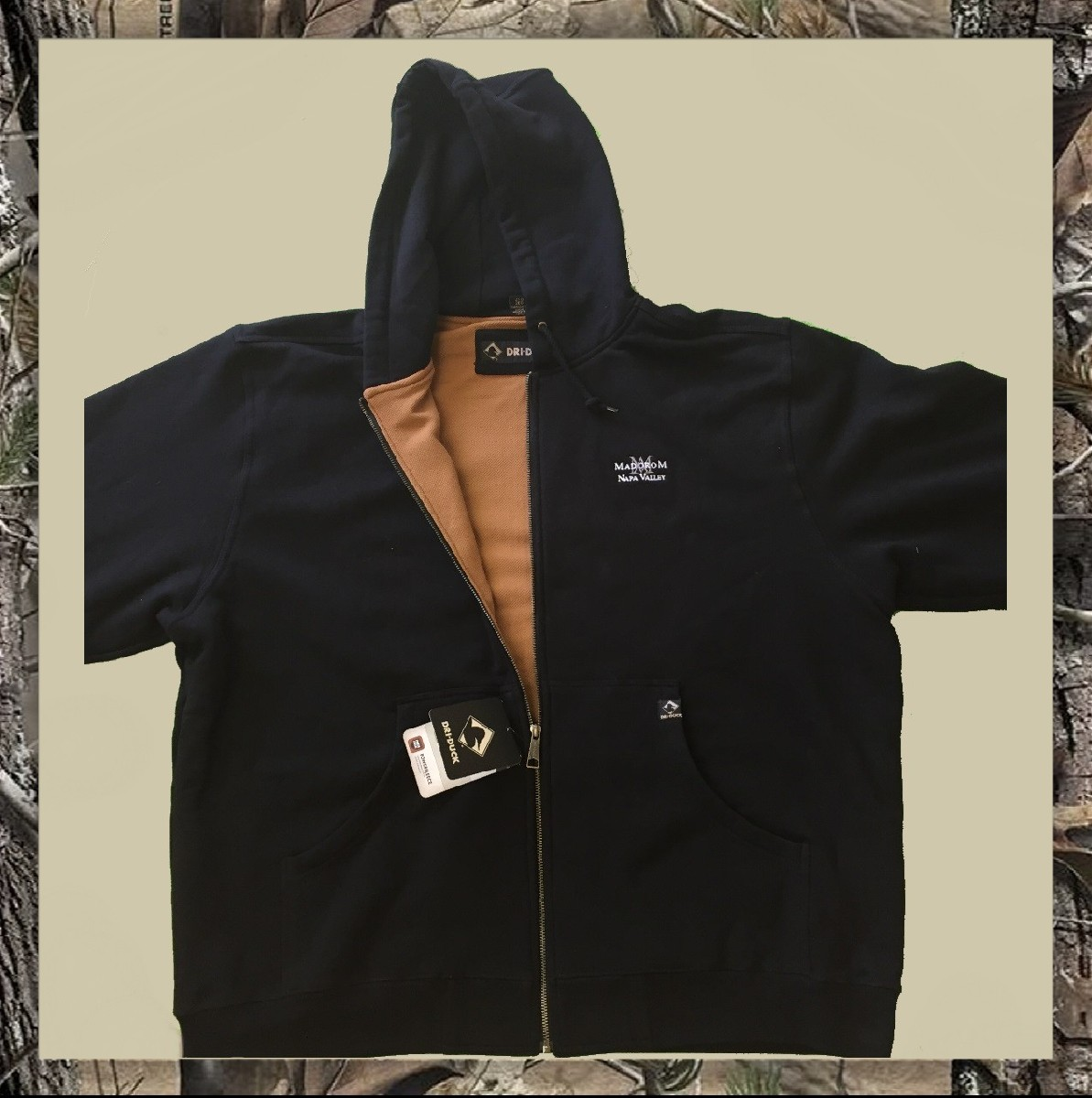 MadoroM Zipped Hoodie Product Image