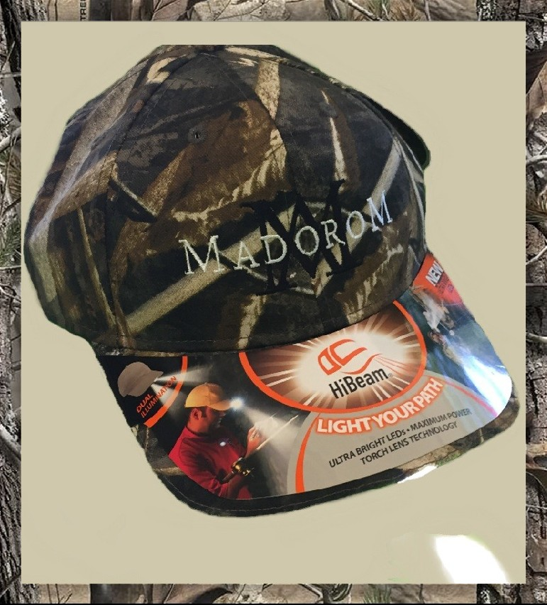 MadoroM Lighted Camouflage Hat Product Image